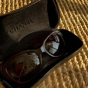 Chanel Sunglasses with original case. 😎